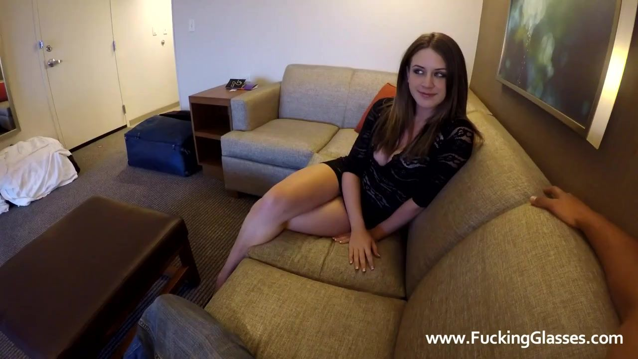 Hooker Comes To His Hotel Room For POV Sex by Fucking Glasses
