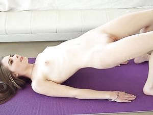Naked Yoga Session And A Sensual Hardcore Fuck
