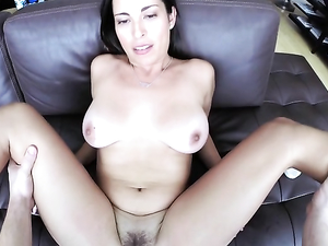 Curvy GF Gives You A Blowjob And Rides Your Cock