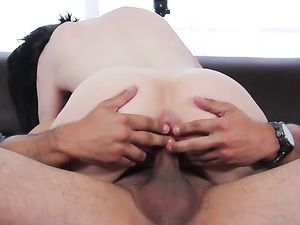 Milky White Cutie Fucks In Her First Casting Session