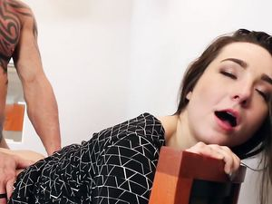 Young Slut Loves Fucking The Boss At Work