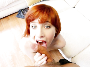 Redheaded Dream Sadie Kennedy Is A Great Cocksucker